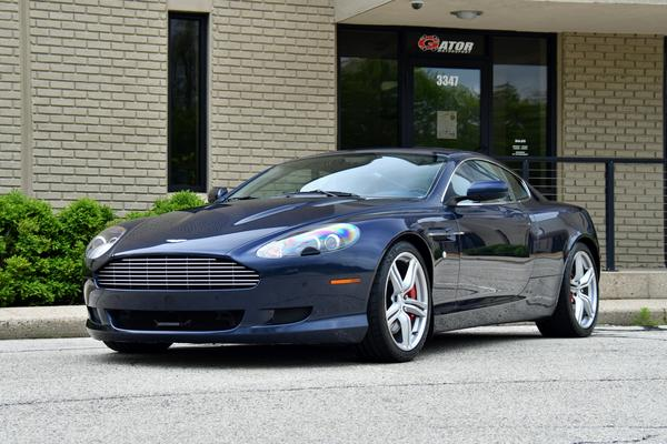 2009 Aston Martin Db9 Coupe Blue Sapphire Blue Leather Mahoghany 30k Miles Thank You W S From In Gator Motorsport